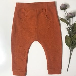 Heathered Rust Baby Sweatpant Joggers